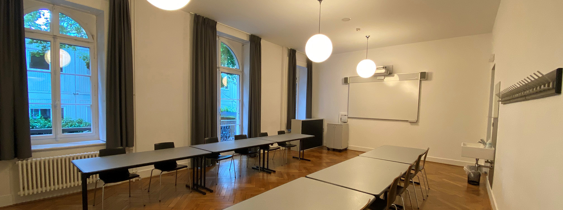 Conference rooms at Geneva Hostel